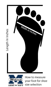shoe size chart width sizing charts for boots how to measure your foot for boot size