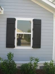 Building Exterior Shutters Building Board And Batten Exterior Shutters