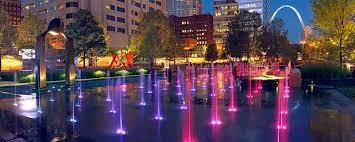 city garden in midwest tech hub st louis