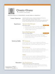Best Resume Templates For Word Stunning Template Cv Format Word Best Resume Templates 48 In Mhidglobalorg