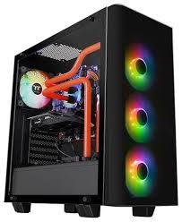 Компьютерный <b>корпус Thermaltake View 21</b> TG RGB Plus CA-1I3 ...