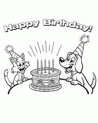 happy birthday dad coloring pages free printable happy birthday coloring pages for kids