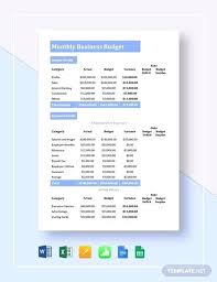 small business budget examples draft budget template 8 small business budget samples word