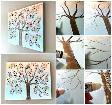 easy diy canvas wall art homemade canvas art ideas on tree canvas wall art cozy home easy diy canvas wall art