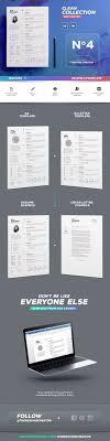 1077 Best Design Resumes Images On Pinterest Cv Format