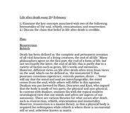 essay life after death essay about desiderata poem essay life after death