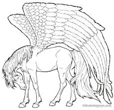 Pegasus Free Coloring Pages On Art Coloring Pages