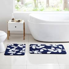 navy blue bathroom rugs navy blue bathroom rug set 28 images just home gray