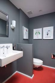 Dark Red Bathroom Red And Grey Bathroom Bathroom