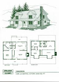 Featured Plan The Adirondack  Southland Log HomesOpen Log Home Floor Plans