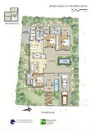 Pleasant Modern Tropical House Floor Plans 1 Style Concrete House