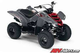 yamaha 50cc atv. red and gray yamaha raptor 50 mini atv 50cc atv g
