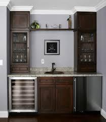 mini bar sink cabinet