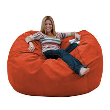 bean bag chairs. Orange Beanbag Chair Bean Bag Chairs O