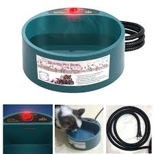 heated water dish bowl pet dog cat electric thermal drinking hanging us battery operated for pets . Heated Water Dish Oz Canada \u2013 Hermine
