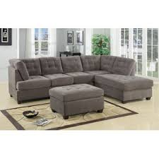 Innovation Sectional Sofas Waffle Reversible R Inside Decorating Ideas