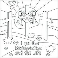 Religious Easter Coloring Books Or Religious Coloring Sheets