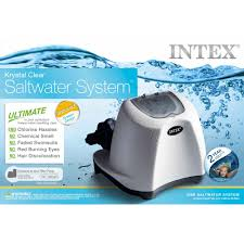 Intex Krystal Clear Saltwater System for Above-Ground Pools up to ...