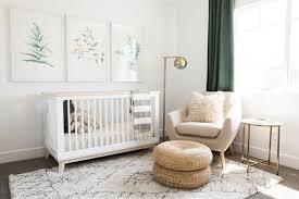 baby nursery ideas neutral natural decor modern crib simple