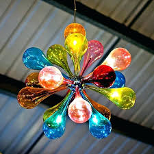 colored glass chandelier new contemporary fixture design for abstract