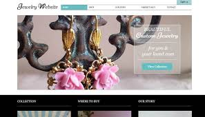 Handcrafted Jewelry Websites Handcrafted Jewelry Website Templates 20 Crafty Ecommerce Website