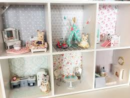 Best Toys To Make  Miniatures Images On Pinterest - Swivel classy sylvanian families living room set