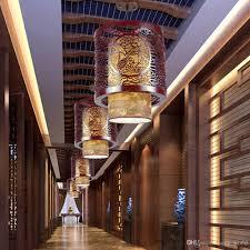 Großhandel Klassischen Chinesischen Stil Holz Pendelleuchte Vintage Esszimmer Pendelleuchte Tee Haus Flur Balkon Hängende Lampen Von Lampworld