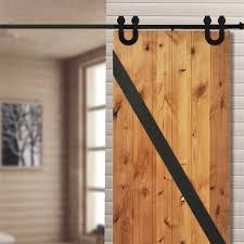 interior barn door hardware. 5/6/6.6/7.5/8/8.2FT High Quality Steel Interior Barn Door Hardware