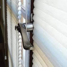 Blinds Behind French Door Handle