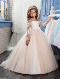 Details about Flower <b>Girl</b> Dress Bridesmaid Wedding Communion ...