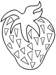 Small Picture Fruits and Vegetable Coloring Page Crafts and Worksheets for