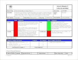 format of a management report it status report template it management report template