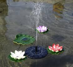 Adeeing New <b>Mini Solar Fountain Solar</b> Floating <b>Water Fountain</b> for ...