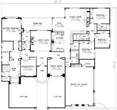 5 Bedroom Ranch House Plans Lovely 5 Bedroom House Plans 1 Story  Interesting Idea 13 E