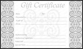Make Your Own Gift Certificates Free Jubilee Create Your Own Gift Certificate Template Free Certificate 12