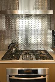 silver backsplash tiles cuisine morne en kitchens cuisine morne en stainless  steel backsplash tiles