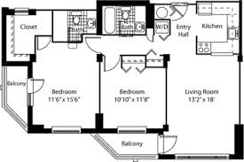 Two Bedroom Apartment Floor Plans And Plan For Luxury Unique With Apartments Floor Plans 2 Bedrooms