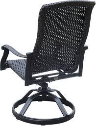 fabric rocker chairs new versailles yx outdoor wicker swivel rocker dining chair set of 2