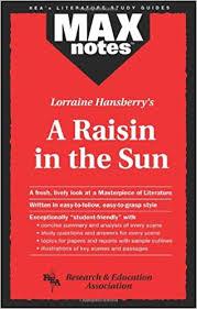A Raisin In The Sun Character Chart Answer Key Amazon Com Raisin In The Sun A Maxnotes Literature Guides