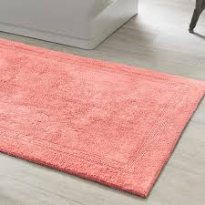 coral colored rug. Coral Colored Indoor Outdoor Rug Rugs Throw Blankets Signaturecoralbathrug Scobr Product List Area Grey Pink Shag R