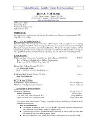 Objective Statement For Accounting Resume Resume Objective