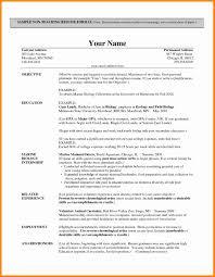 Sample Resume For Teachers Job Resume Work Resumeat Cv Teachers Job Theorynpractice