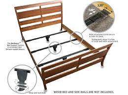 side rails for queen bed queen bed beam support system deluxe side rails for queen bed