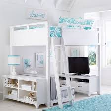loft beds for girls. Simple For Hampton Convertible Loft Bed  PBteen On Beds For Girls F