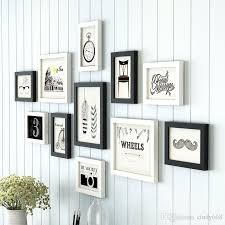 european style photo frame white black creative multi photo frames wall collage picture frame wooden frame for photos uk 2019 from cindy668
