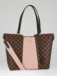 louis vuitton tote. louis vuitton damier canvas and magnolia taurillon leather jersey tote bag