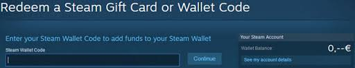 how to use steam wallet