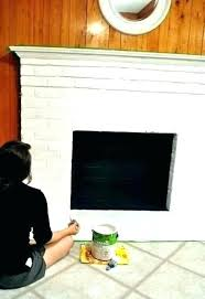 interior fireplace paint can you paint the inside of a fireplace paint for inside fireplace paint