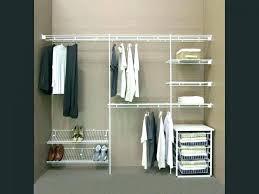 closet maid shelf track closetmaid 4 drawer shelftrack basket kit