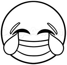 How To Draw Laughing Emoji Step 4 Smile Modelli Arte Di Fili